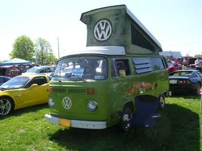 Volkswagon Camper at New York Newsday's Field of Wheels