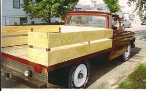 1966 Chevy C-20 3/4 ton pickup w/ Wood Body