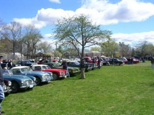 2014 Queens Farmhouse Meet field view